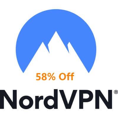 NordVPN 1 year deal with 58% off for $5.00/mo
